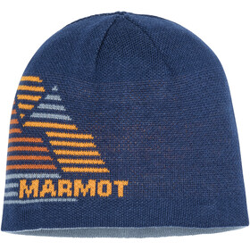Marmot Novelty Wende-Beanie Jungs arctic navy